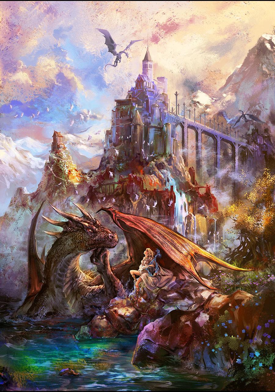 Dragon Bard by SharksDen