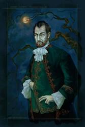 Joseph Curwen Portrait by SharksDen