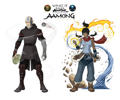 Avatar elseworld - Aamong by SharksDen
