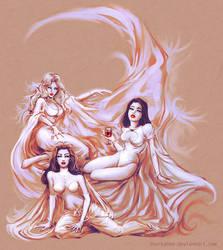 Three Brides (old version) by SharksDen