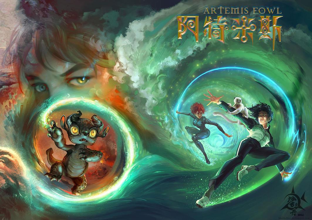 Artemis Fowl book5+6 by SharksDen