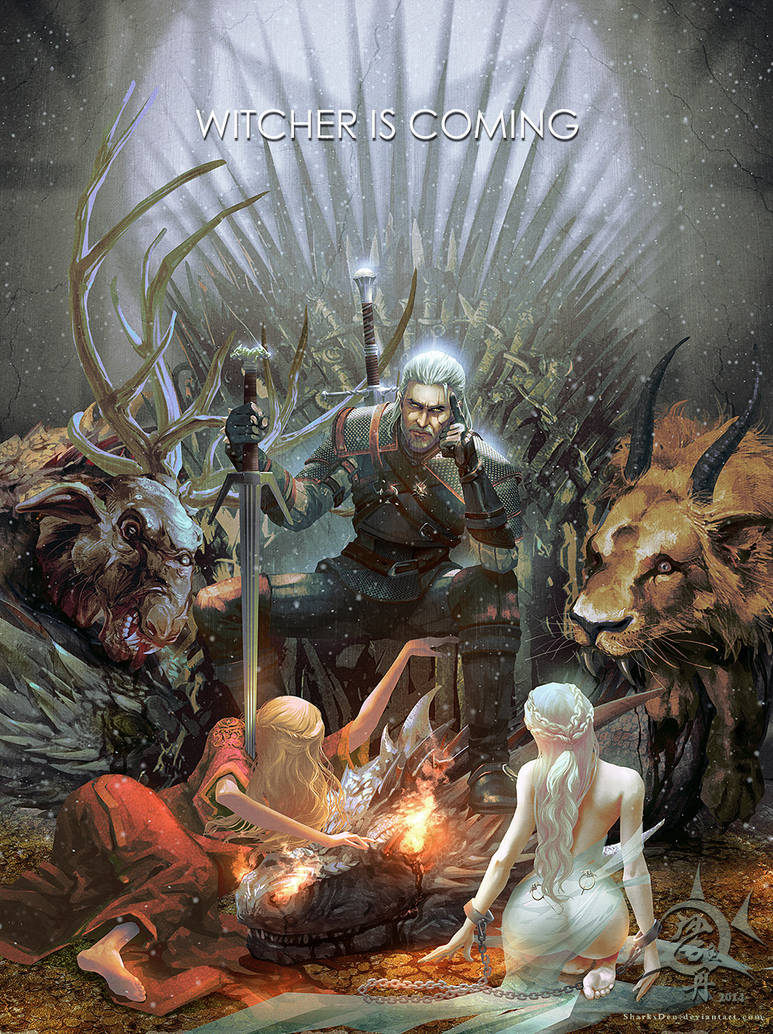 Witcher is Coming by SharksDen