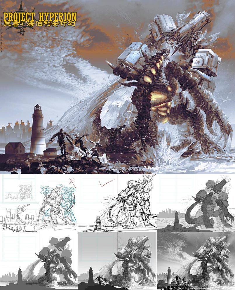 Hyperion vs. Nemesis by SharksDen