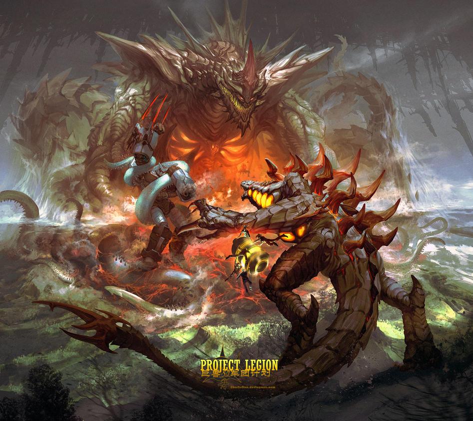 Project Legion by SharksDen