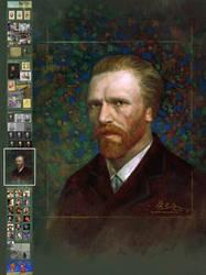 Vincent van Gogh real face study (local)