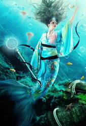 +Mermaid From The Far East+ by moroka323