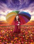 +Rain of flowers+ by moroka323