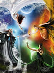 +The Elemental Goddesses+ by moroka323