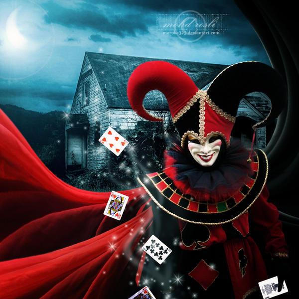 +The Clown+ by moroka323