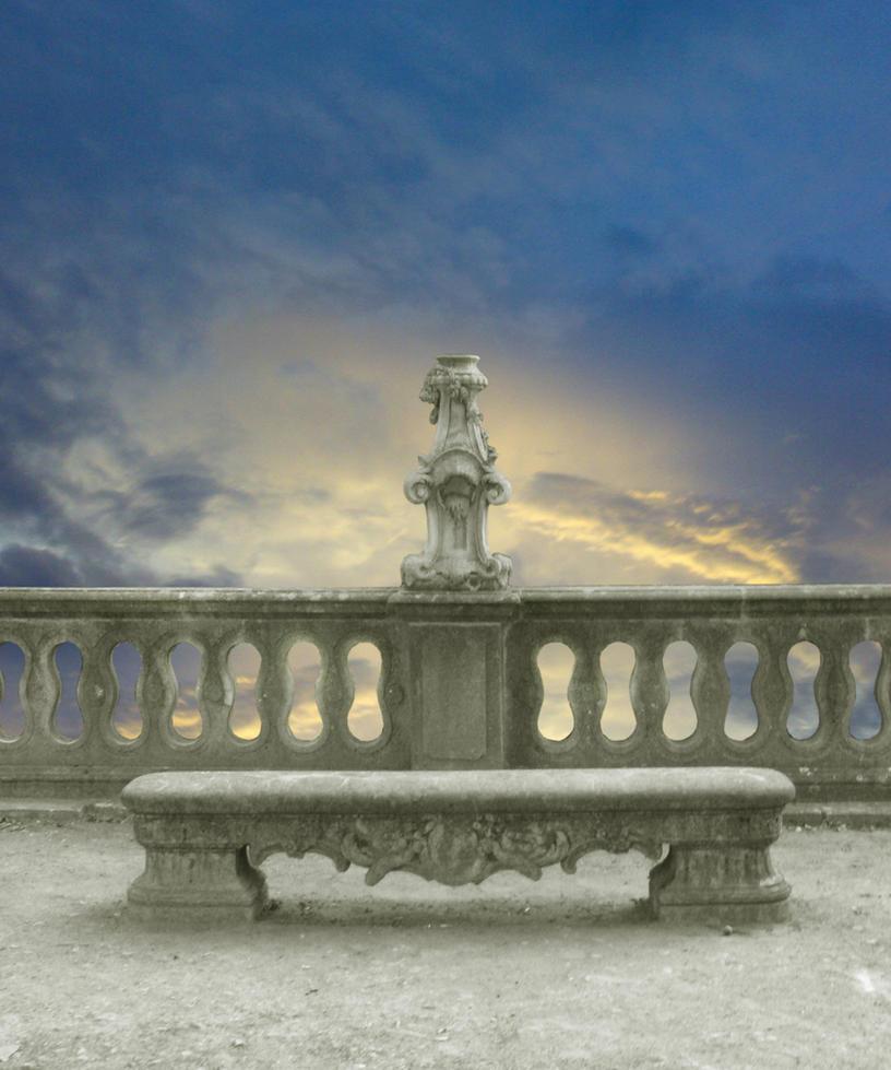Balcony stock by moroka323 on deviantart for Balcony wallpaper