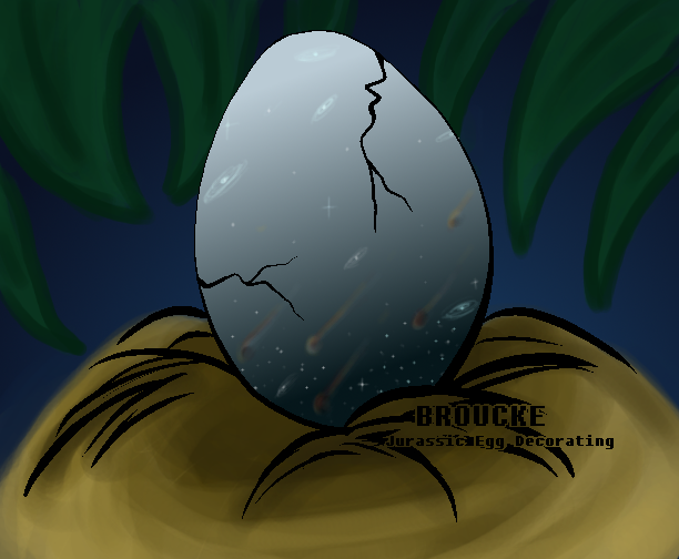 Jurassic Egg Contest Entry by AliceTheHunted
