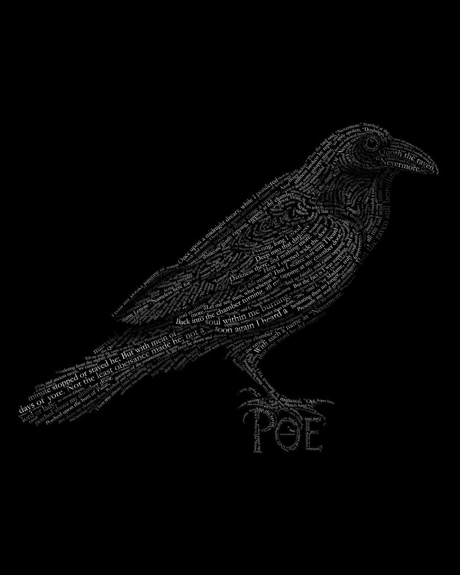 The Raven by violinsane