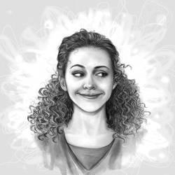 Hermione by violinsane