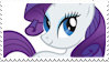 :Stamp: Rarity Unicorn by DraconemIgnis