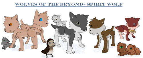 Wolves of the Beyond- Spirit Wolf by TrustJacketArt