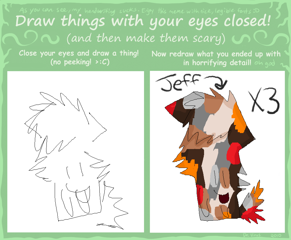 how to draw closed eyes side view