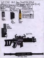The WESTAR M-9 Blaster Rifle by Sir-Saboteur