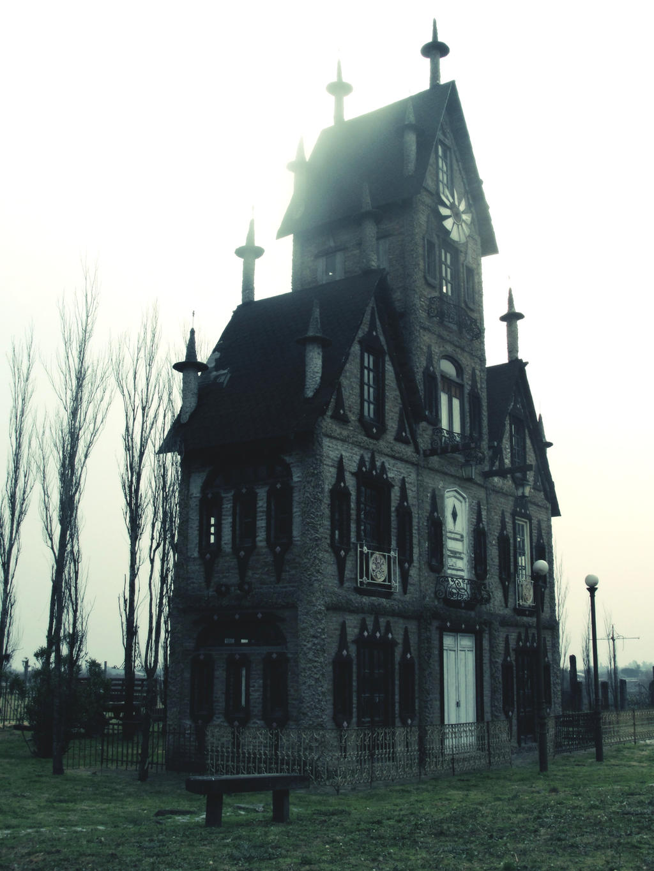 Creepy house by Branstock