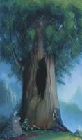 Under this tree