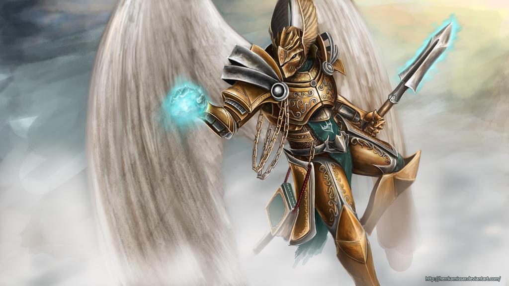 Guardian of heaven's gate