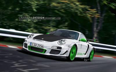 Porsche 911 GT3 RS 4.0 by CarraraDesign