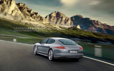 Porsche Panamera Facelift by CarraraDesign