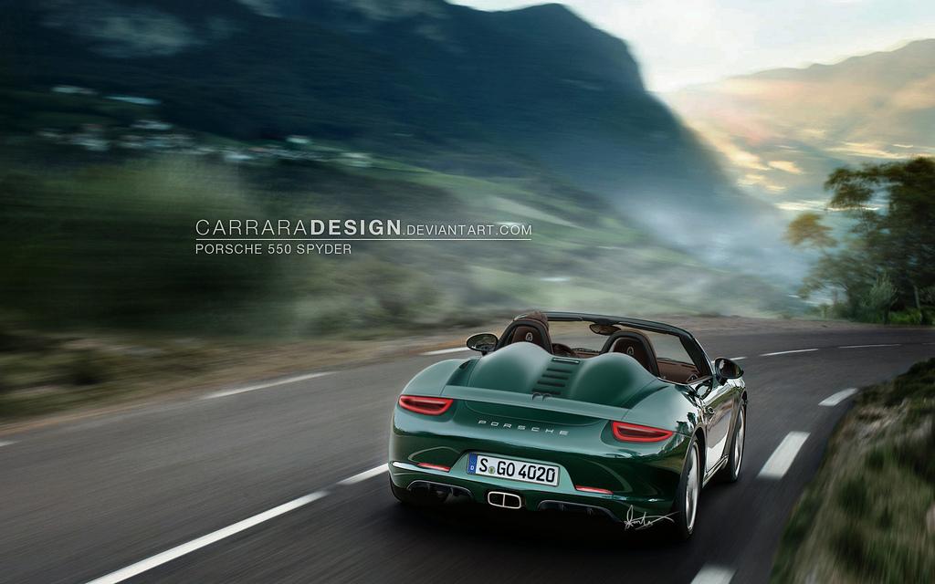 2014 porsche 550 spyder by carraradesign - Porsche Spyder 550 2014
