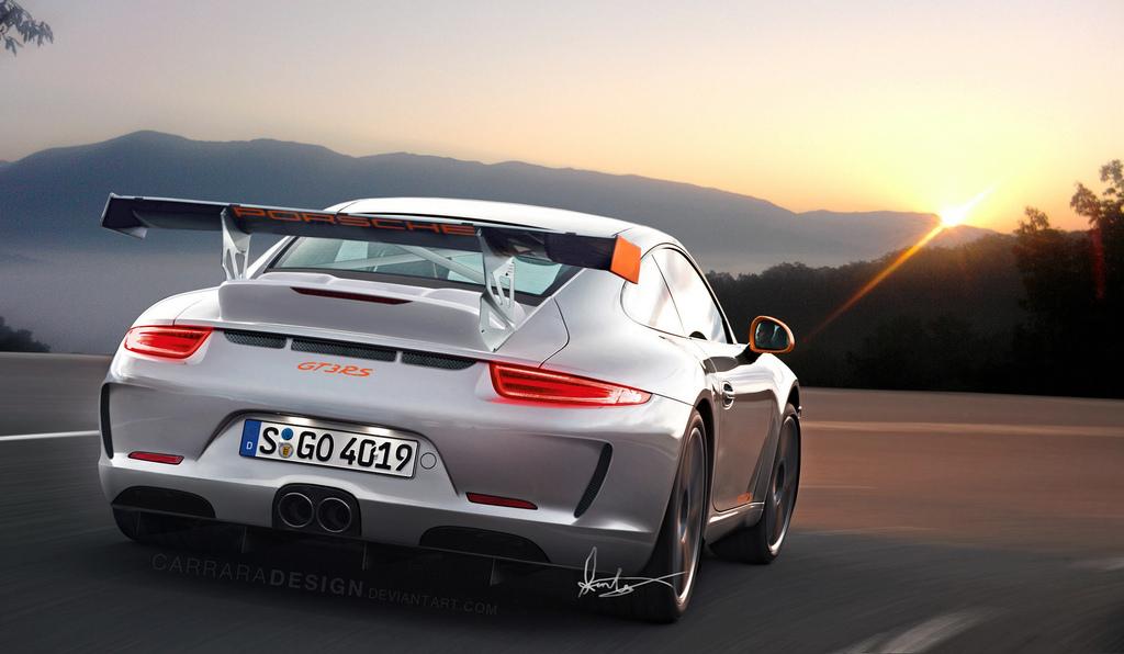 porsche 911 gt3 rs 2014 фото