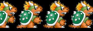 SMBX- Super Mario Bros 3 GIGA Bowser Sprites
