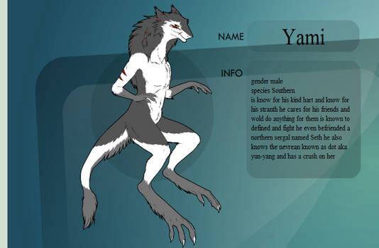 Yami The Sergal