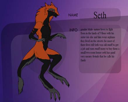 Seth the sergal updated