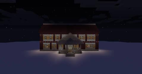 Minecraft mansion 2