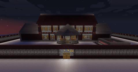 Minecraft mansion 2 update 1 of 2