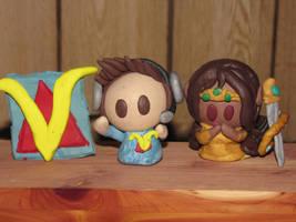 Venturian Fan-made Clay Figurines! by JordanVenturian