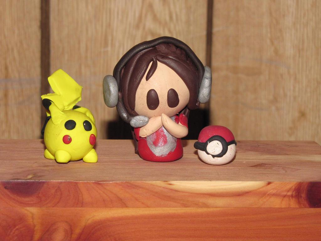 ImmortalKyodai Fan-made Clay Figurines! by JordanVenturian
