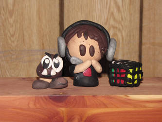 HomelessGoomba Fan-made Clay Figurines!