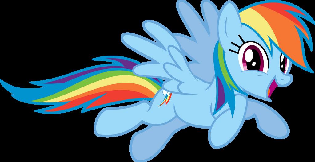 Rainbow Dash Posing