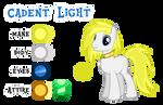 Cadent Light Reference by Drakizora