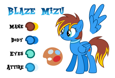 Blaze Mizu Reference by Drakizora