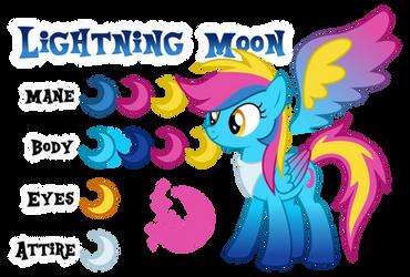 Lightning Moon Reference by Drakizora