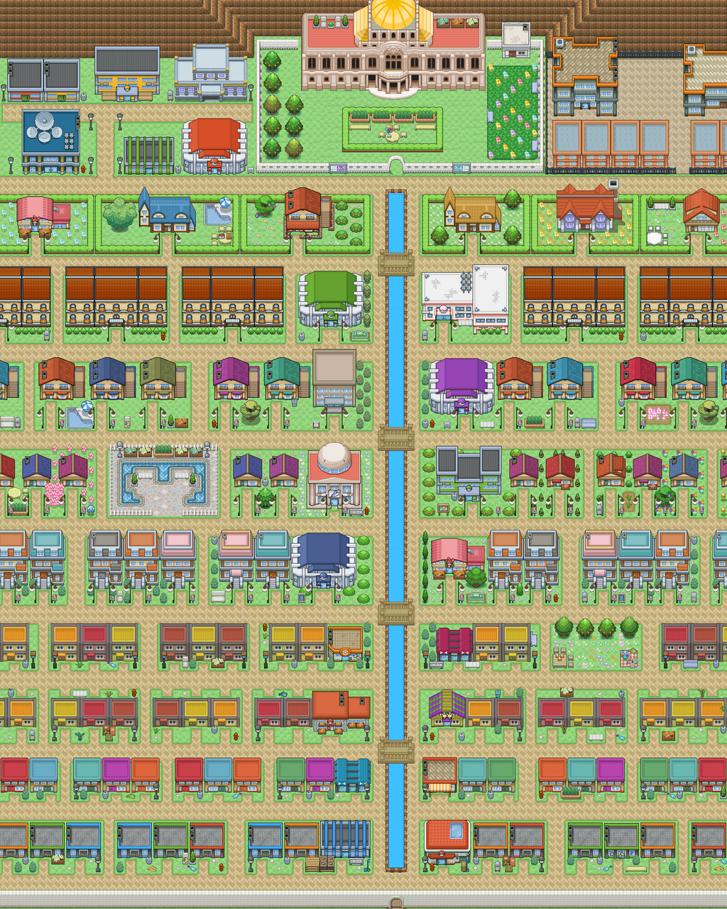 Pokemon Tabletop United Emerald City by Slytherclaw on ...