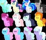 Pony pack 1