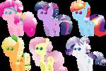 Pony pack 4