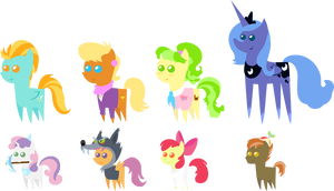 Pony pack 6