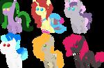 Pony pack 7