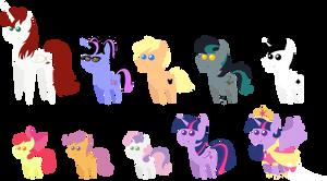 Pony pack 16