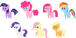 Pony pack 18 by Zacatron94