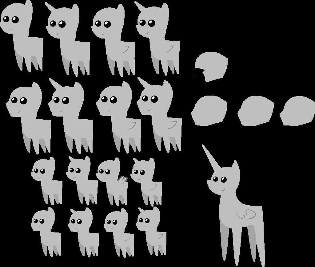 Pony Pack Templates