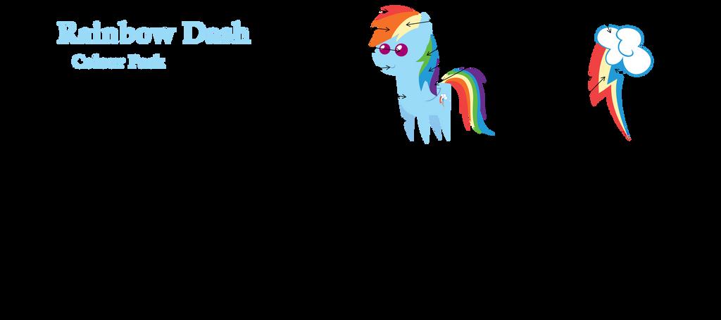 Rainbow Dash Colour Pack by Zacatron94 on DeviantArt