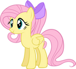Fluttershy (With Ponytail)